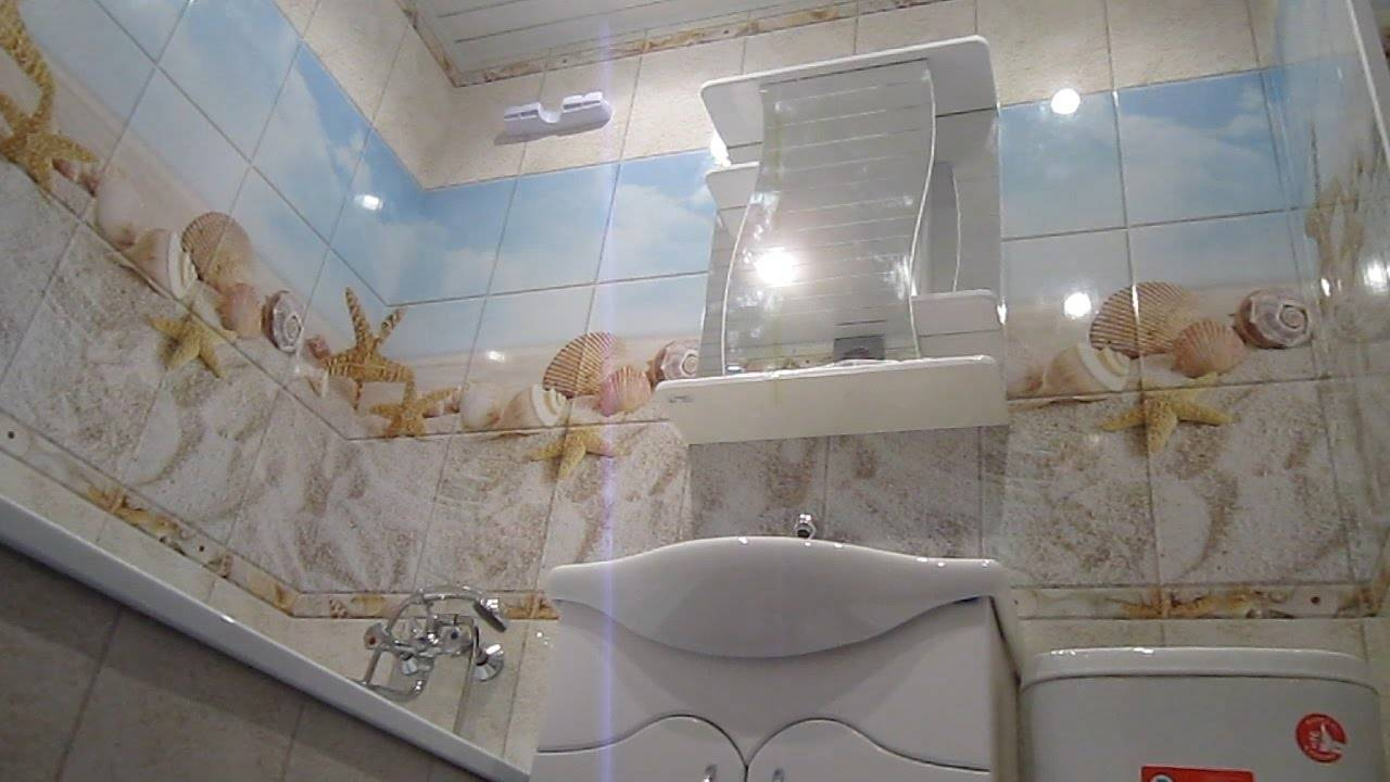Пластиковые панели для ванной: 60 фото-решений и 6 лучших дизайн-идей