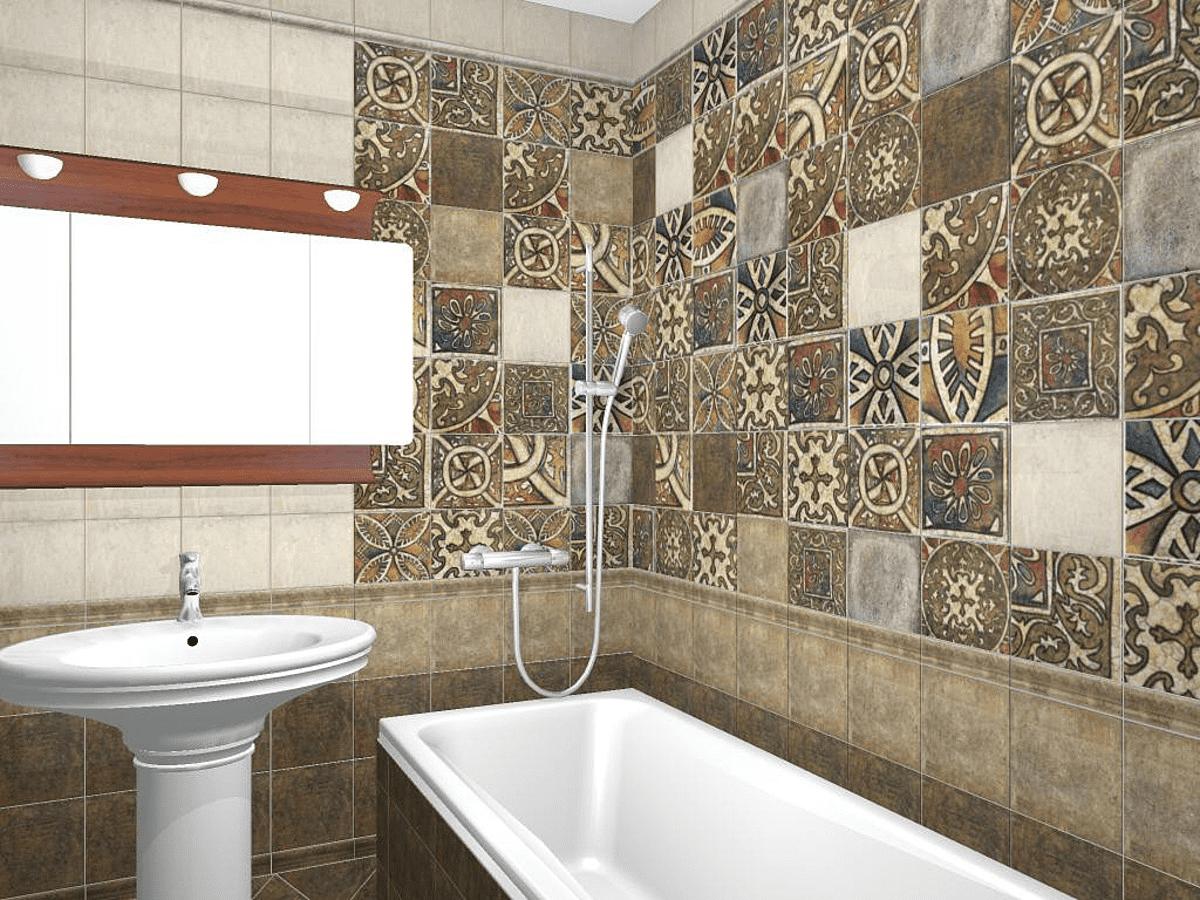 Плитка в стиле пэчворк (59 фото): керамические настенные изделия, модели из испании в интерьере