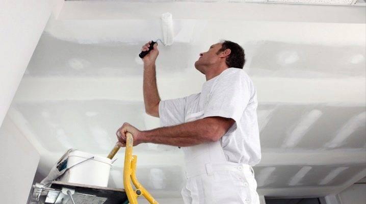 Лучшая краска для потолка в квартире — выбираем долговечное и безопасное покрытие