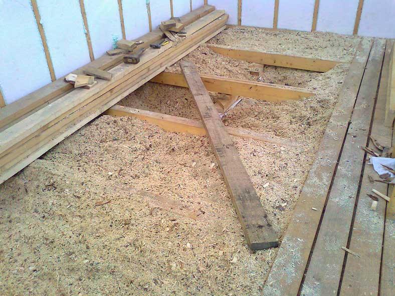 Утепление глиной: пошаговая инструкция