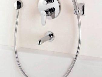 Смесители hansgrohe: встроенный вариант для ванны и душа, встраиваемый в раковину, как выбрать картридж для модели logis