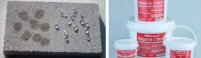 Жидкое стекло для бетона: инструкция по применению