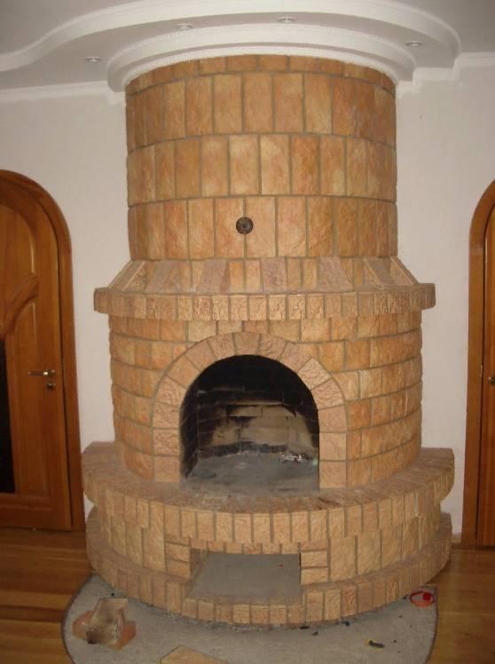 Керамическая плитка для печей и каминов: классификация, советы по отделке
