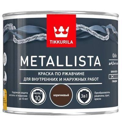 Краски по металлу: обзор 5 популярных производителей