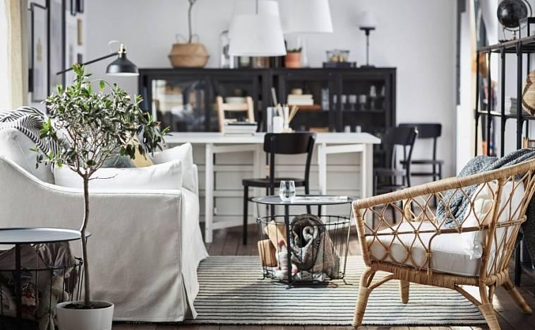 Интерьеры гостиной икеа [100+ фото] ♥️ идеи и варианты дизайна