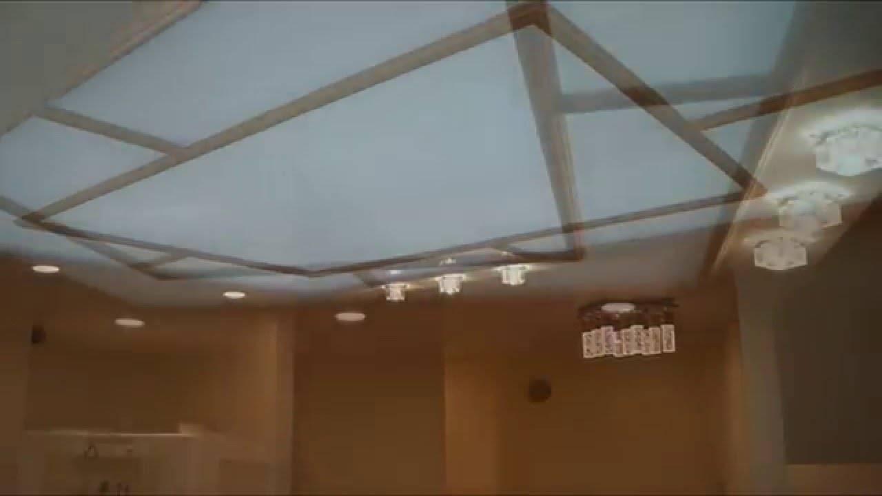 Потолок из оргстекла с подсветкой - необычность, красота и функциональность