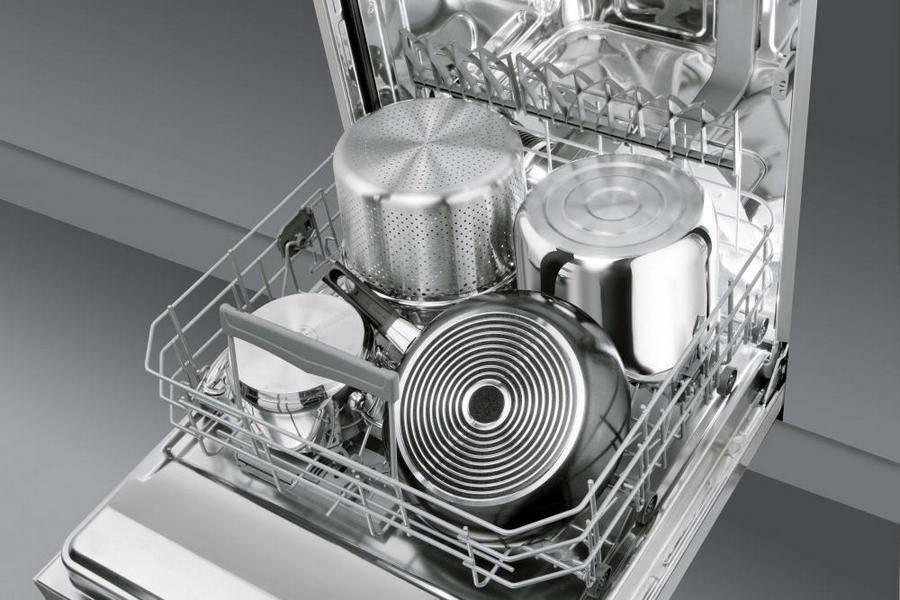 Размеры ширины и высоты встраиваемых посудомоечных машин и их основные виды