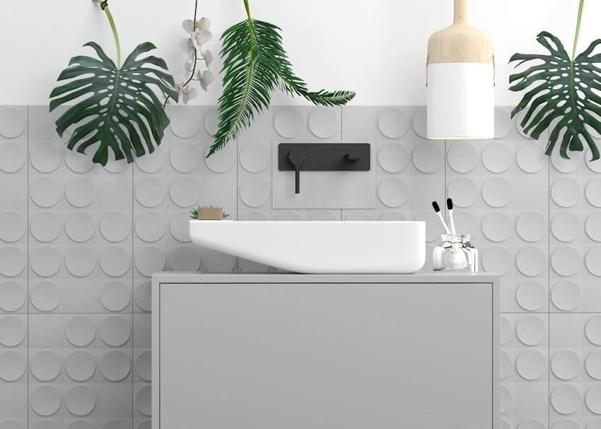 Как правильно класть плитку вокруг ванны