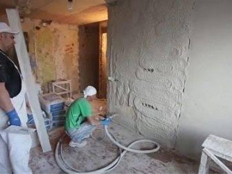 Механизированная штукатурка стен: апараты, смеси и этапы проведения работы