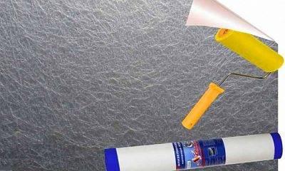 Как клеить стеклохолст: виды клея и инструкция