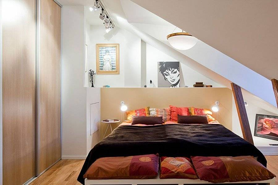 Дизайн спальни 6 кв м фото и рекомендации