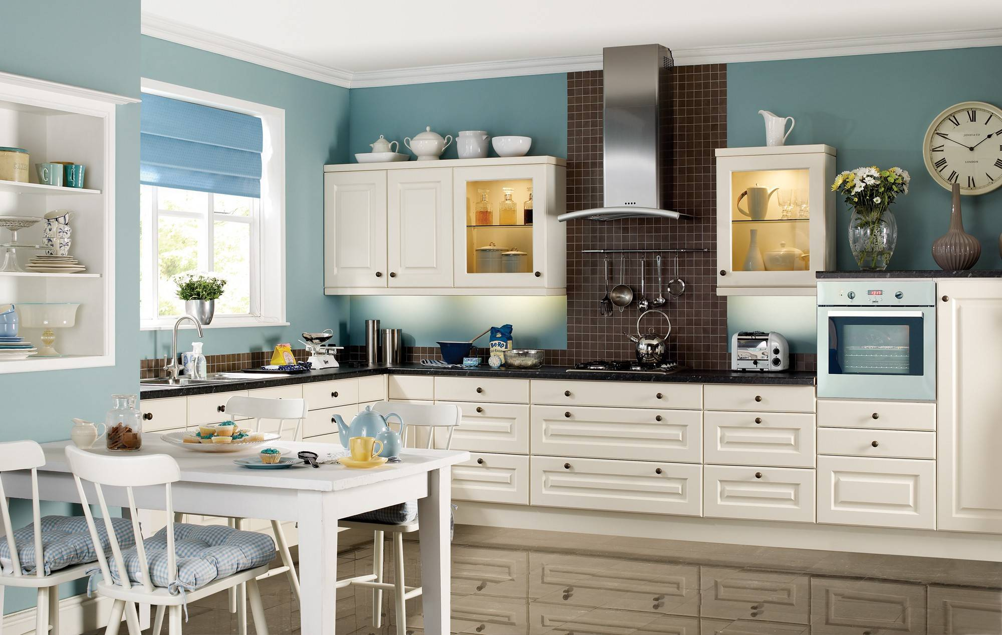 Какую краску выбрать для стен на кухне?
