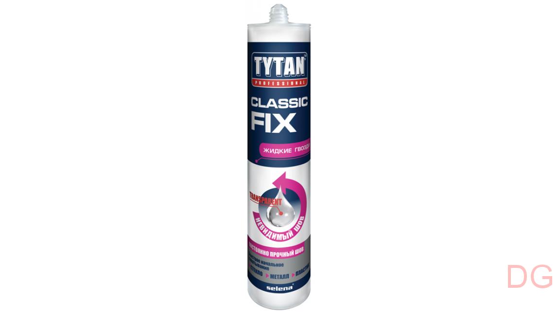 Tytan professional: клей, гермитик, монтажная пена, жидкие гвозди, мастика