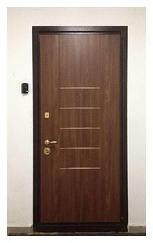 Отделка дверей мдф панелями: выбор материала и технология обшивки входной металлической конструкции