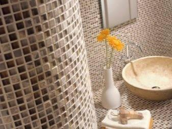 Плитка для ванной мозаика: как правильно подобрать