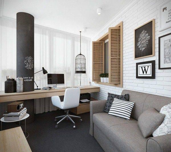 Интерьер рабочего кабинета руководителя (директора): оформление, мебель, дизайн, фото » интер-ер.ру