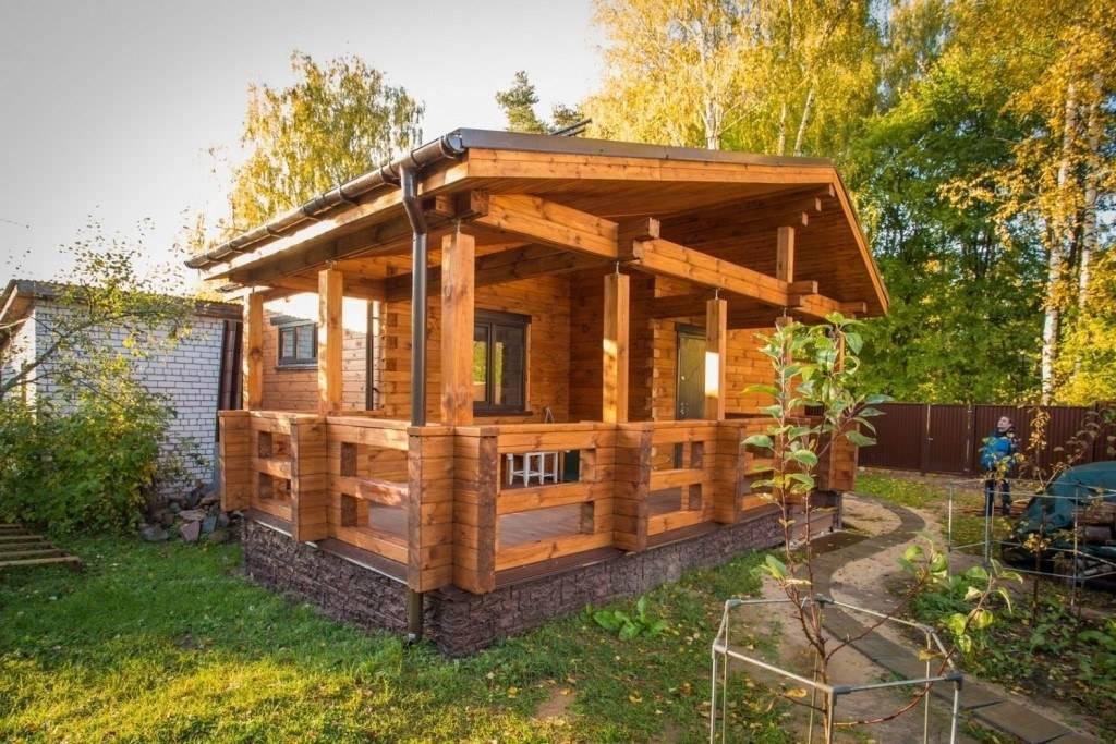 Беседки из бруса: фото лучших проектов для красивого обустройства дачи и дома