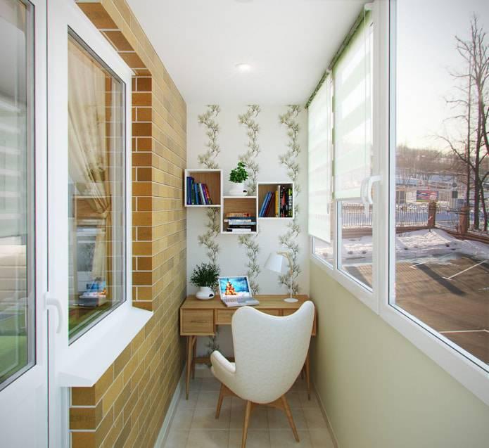 Отделка балкона внутри своими руками: 240+ (фото) вариантов