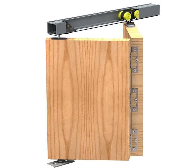 Складная межкомнатная дверь-книжка: нюансы использования, фото