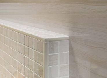 Уголки для плитки в ванной или способы оформления стыков кафеля