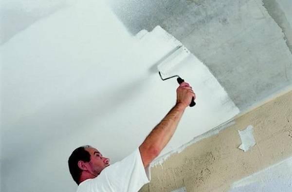 Чем покрасить потолок в квартире – выбор подходящей краски