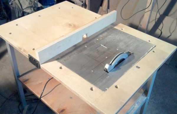Стол для ручной циркулярной пилы своими руками: чертежи, видео