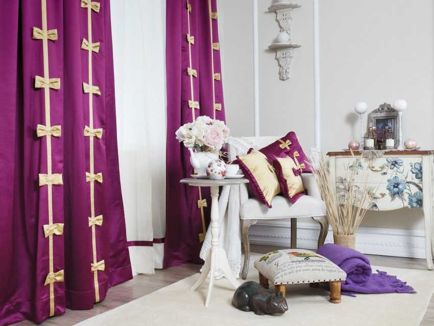 Декор штор своими руками (идеи и фото) декор штор своими руками (идеи и фото)