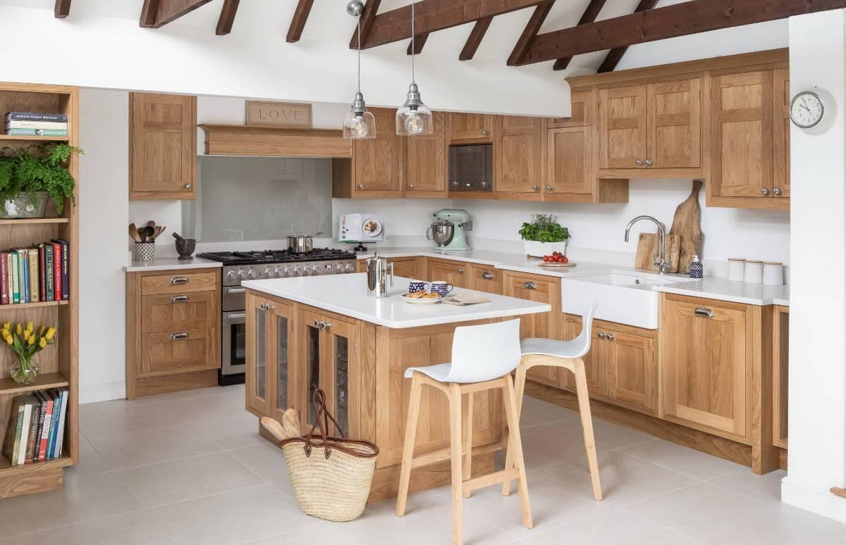 Особенности дизайна кухни в английском стиле