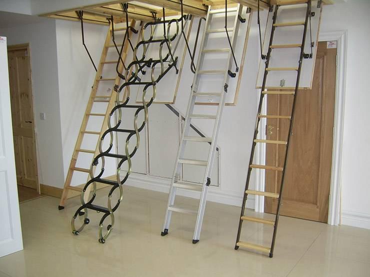 Как сделать лестницу для чердака своими руками