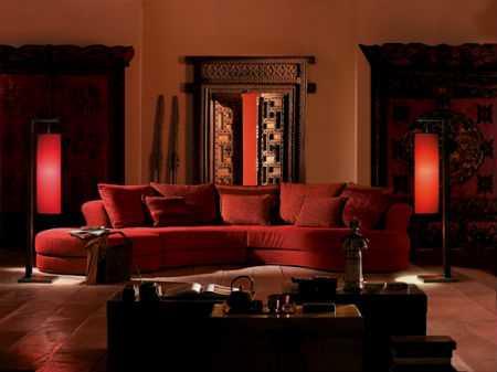 Восточный стиль в интерьере квартир и домов (89 фото)