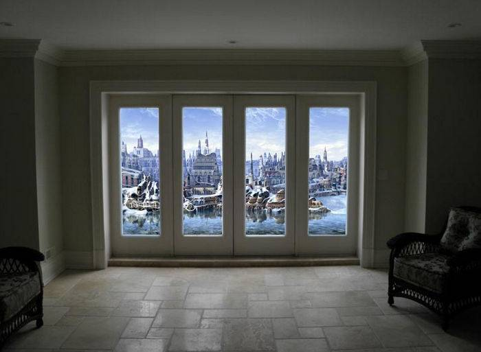 Как сделать фальш-окно своими руками?