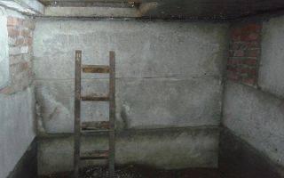 Гидроизоляция ямы в гараже