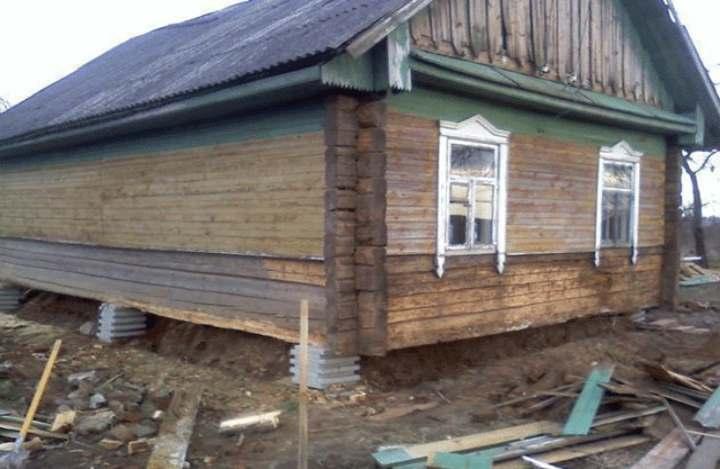 Как заменить фундамент под деревянным домом своими руками: Пошагово - Обзор
