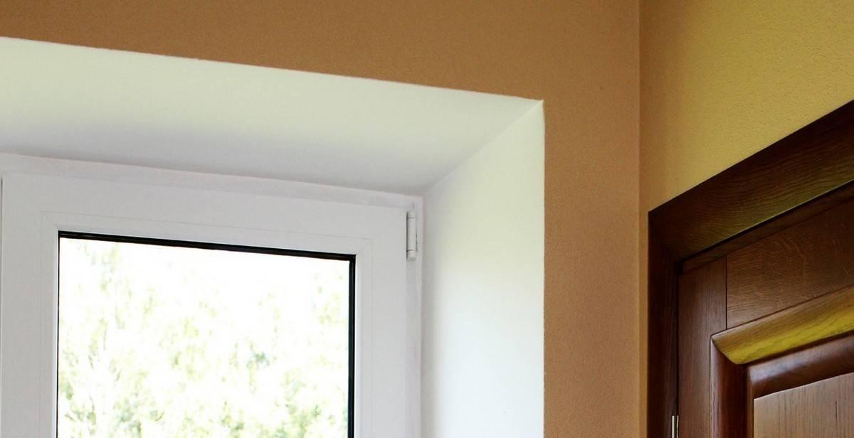 Откосы из гипсокартона (32 фото): устройство конструкций на окна, отделка гипсокартоном своими руками, как сделать оконные откосы