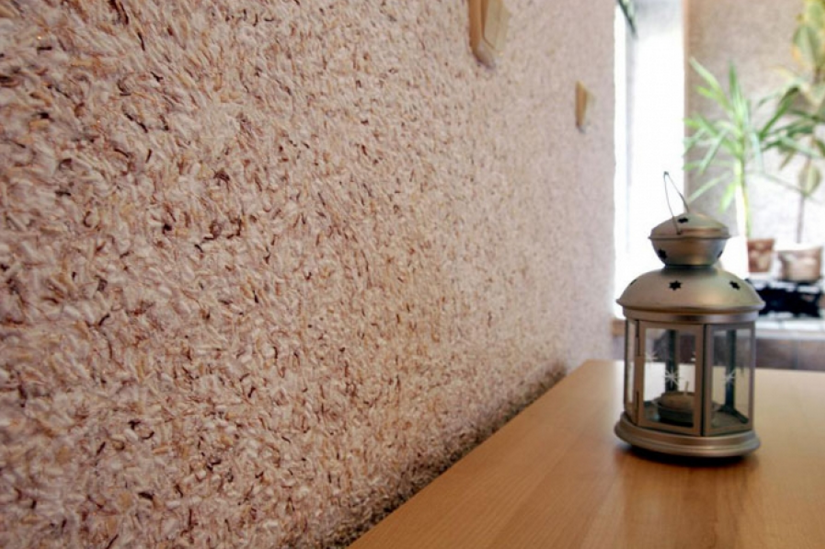 Жидкие обои для стен . Как наносить, преимущества и недостатки материала