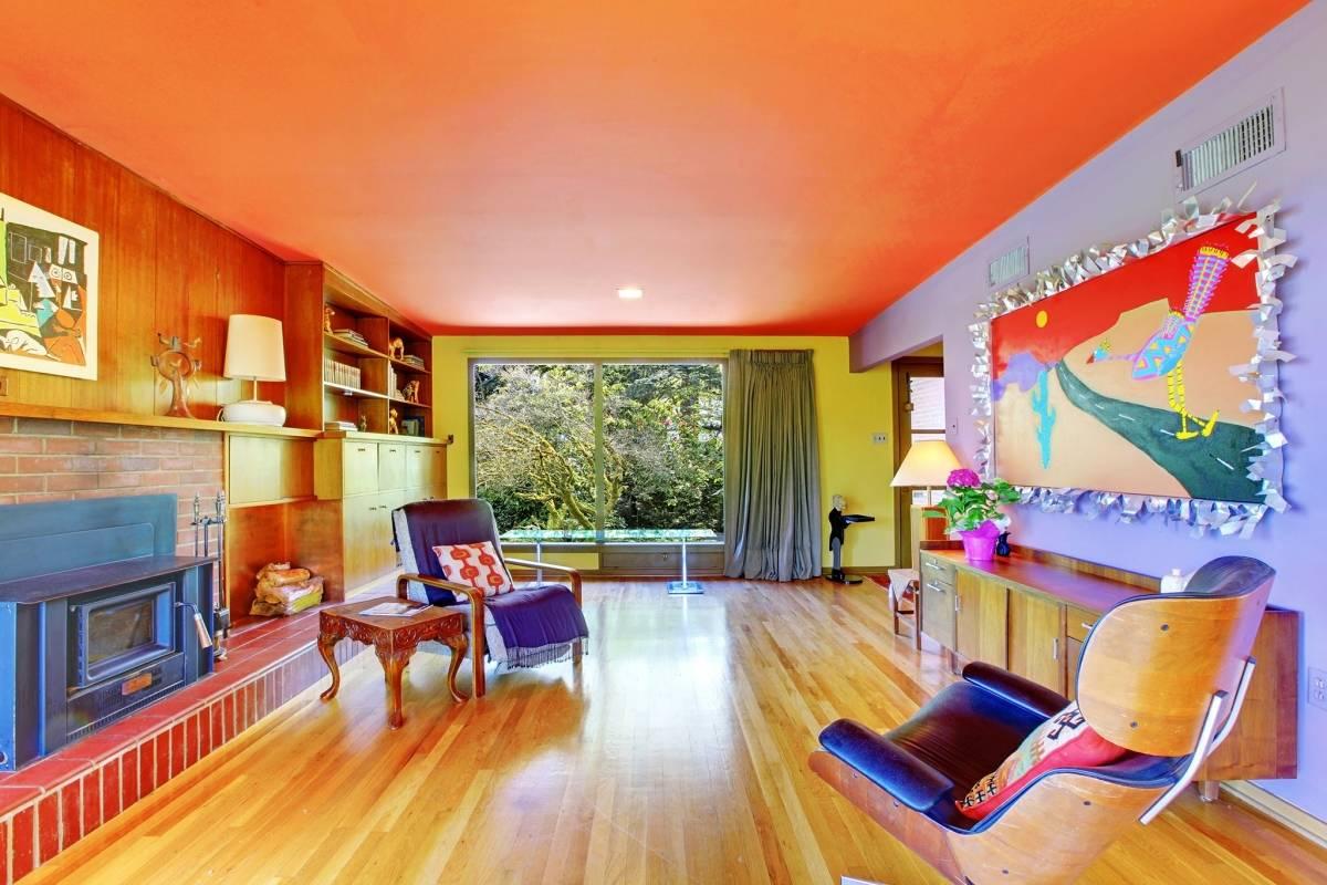 Покраска потолка: материалы, инструменты, технология
