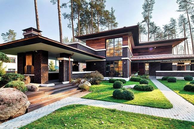 Дома в стиле модерн - 115 фото идей дизайна и особенности их реализации