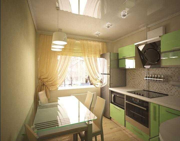 Кухня 9 кв метров: практические советы, фото примеры
