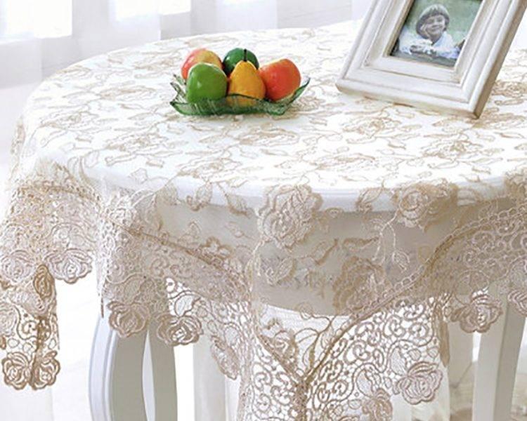 Скатерть своими руками: на стол для кухни, шьем из лоскутков разные разности