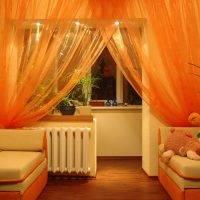 100 лучших идей: зонирование шторами | интерьер комнат на фото