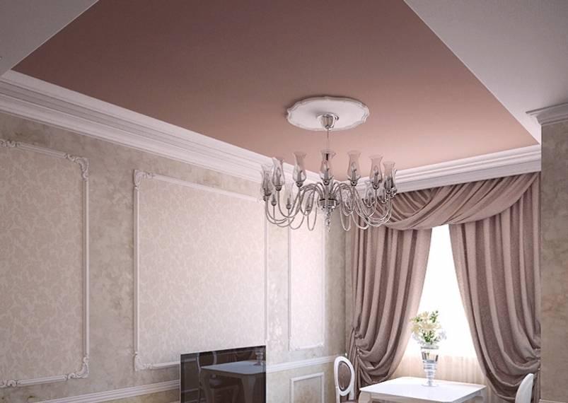 Какой натяжной потолок лучше матовый или глянцевый: отзывы, описания и рекомендации