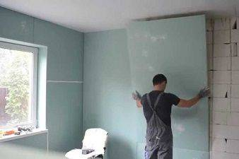 2 способа крепления гипсокартона к стене: 50 фото и 2 видео