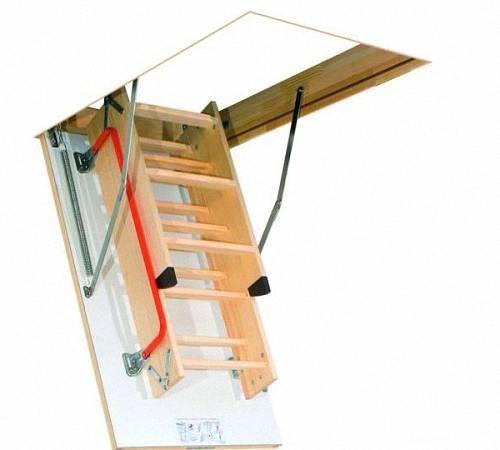 ?чердачные лестницы: виды конструкций и особенности монтажа