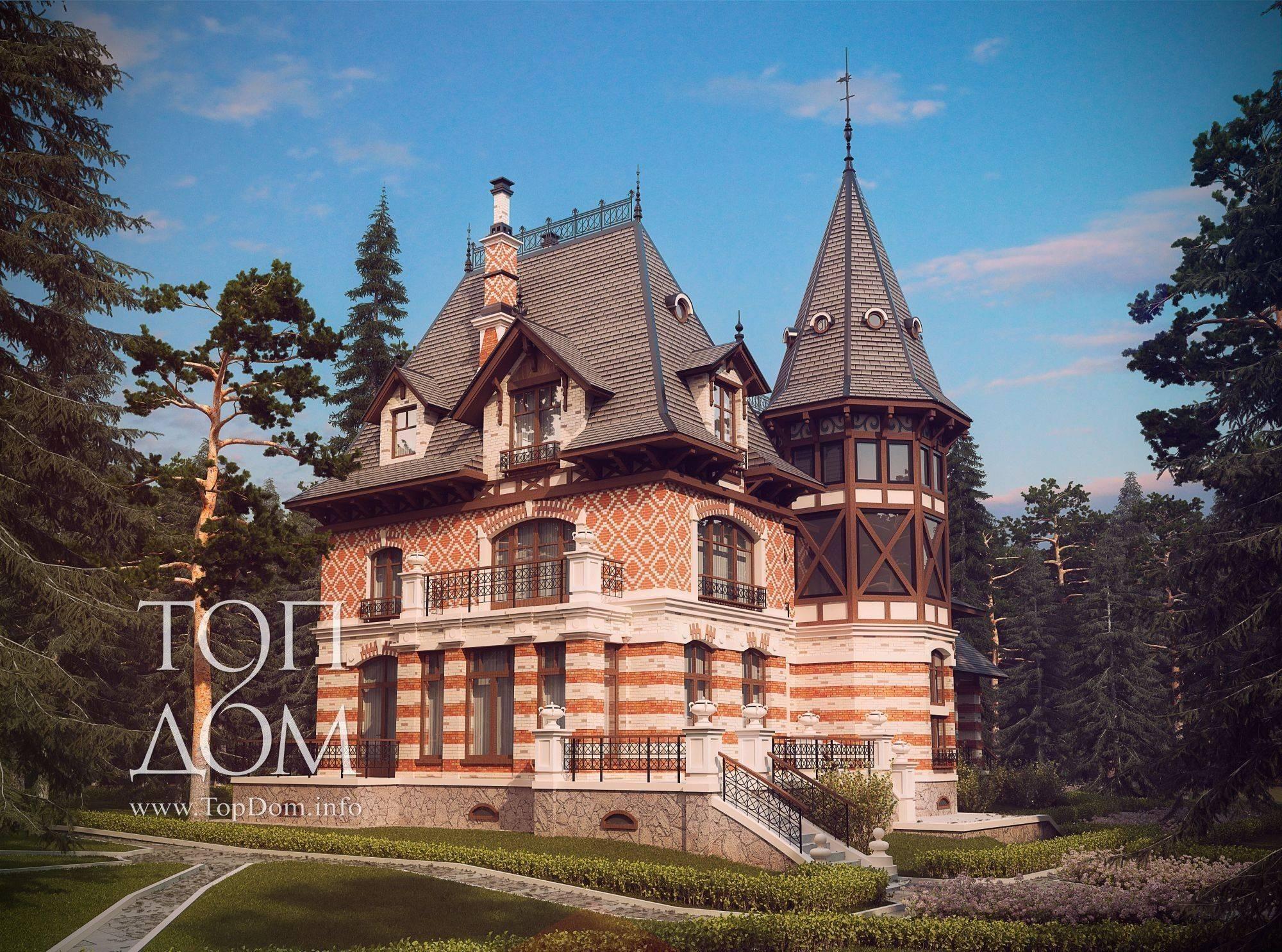Дом в русском стиле – характерные черты национального направления - 33 фото
