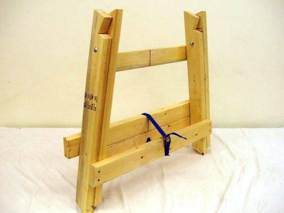 Как сделать деревянные козлы для ремонта. универсальные столярные козлы своими руками