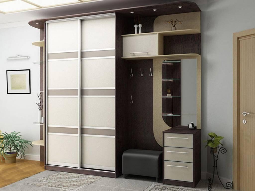 Шкаф-купе в прихожую + 170 фото дизайна и идей