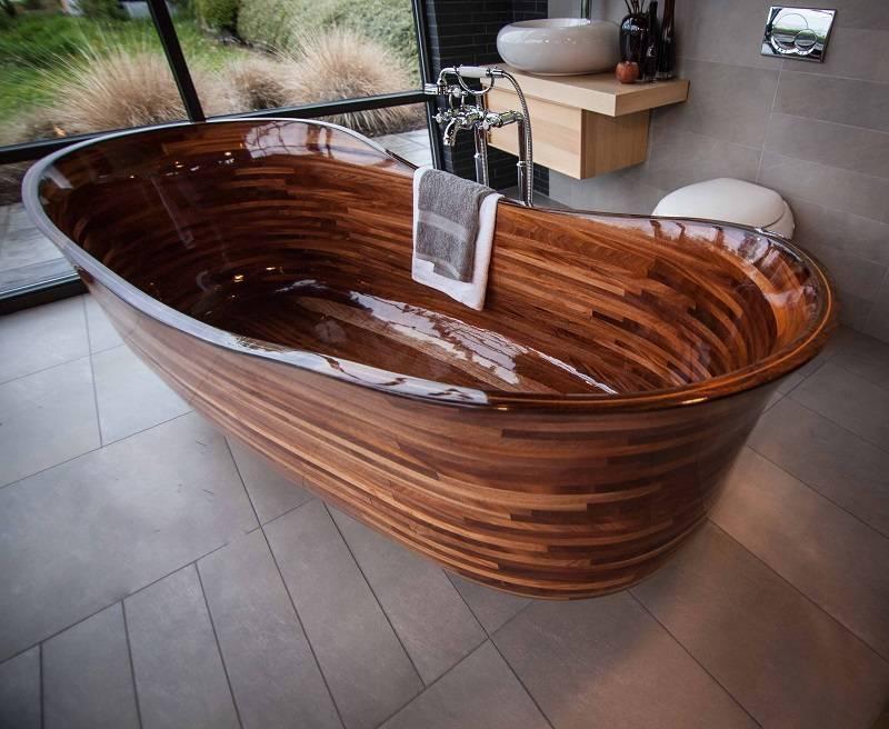 Ванная из дерева своими руками: пошаговая инструкция с фото