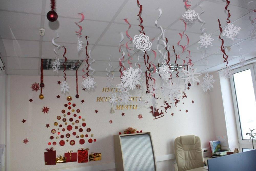 Как украсить офис на новый год: простые решения, стильные идеи