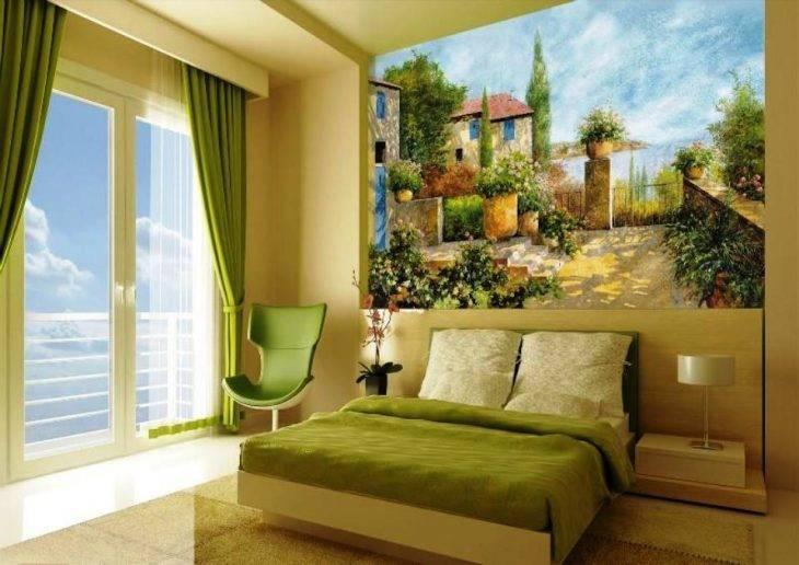 Фреска в спальне (33 фото): фреска на стену в интерьере, дизайн спальни