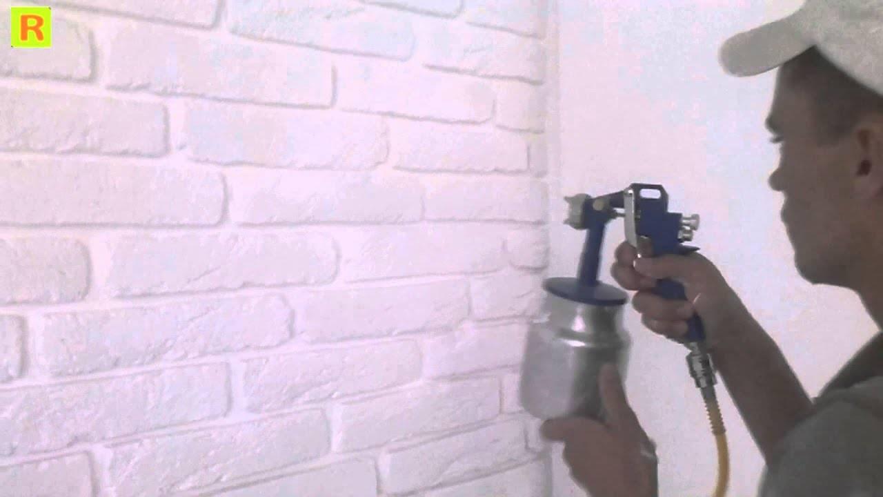 Инструкция, как покрасить гипсовую стену. особенности работы с плиткой и декоративным камнем